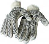 Strickhandschuhe mit PVC-Noppen