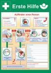 Erste-Hilfe Schild/ Plakat (37 cm x 52 cm)