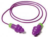 50 Paar abwaschbare Moldex Rockets® Cord Mehrweg-Gehörschutzstöpsel (30 dB)
