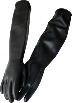 60 cm lange, schwere Gummihandschuhe