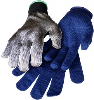 1 flexibler Schnittschutzhandschuh aus Metallica Garn