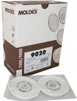 20 Moldex P2 R Partikelfilter 9020 - passend für Masken der Serie 7000 und 9000