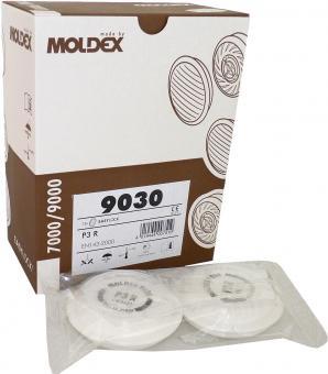 12 Moldex P3 R Partikelfilter 9030 - passend für Masken der Serie 7000 und 9000