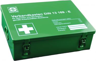 Betriebsverbandkasten MAXI nach DIN 13169, grün