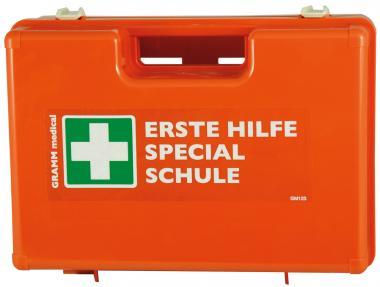 Verbandskoffer SCHULE gefüllt DIN 13157 + Zusatzausstattung