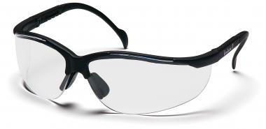 Ballistische Schutzbrille mit gutem Seitenschutz Klare Scheiben
