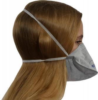 FFP2 Atemschutzmaske mit Aktivkohle