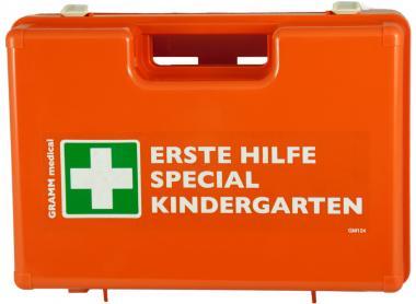 Verbandskoffer KINDERGÄRTEN gefüllt DIN 13157 + Zusatzausstattung