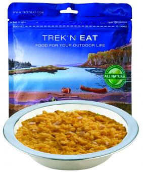 Notnahrung: TREK'N EAT Huhn mit Curryreis