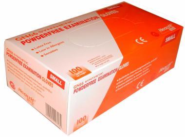 100 puderfreie Chemiefaser-Handschuhe