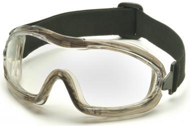 Pyramex Vollsichtbrille mit H2X-Anti-Beschlag-Beschichtung