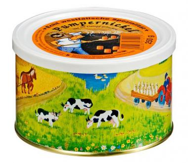 Notnahrung: Roggen Pumpernickel - Dosenbrot 250 g