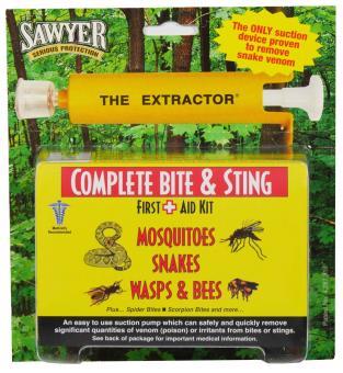 Erste-Hilfe-Set gegen Insektenstiche und Schlangenbisse