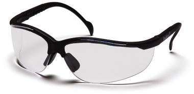 Schutzbrille mit gutem Seitenschutz