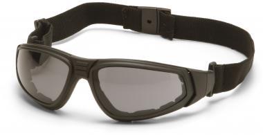 Ballistische Schutzbrille/ Schießbrille gemäß STANAG 2920 grau