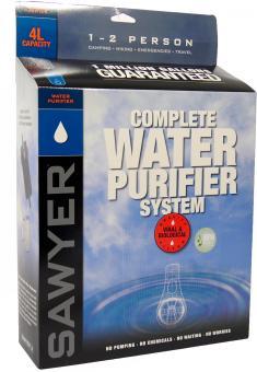 Sawyer® 4 Liter Komplett-Wasser-Filtersystem SP194 (0,02 Mikron Porengröße)