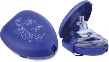 Taschen-Beatmungsmaske in Kunststoffbox