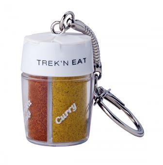 TREK'N EAT 4-fach Gewürzstreuer mit Schlüsselanhänger