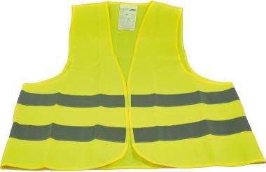Warnweste in Universalgröße (wahlweise orange oder gelb)