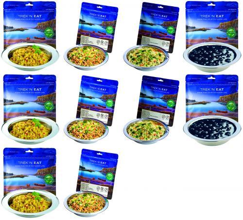 Notnahrung Paket: TREK'N EAT Best of Vegan