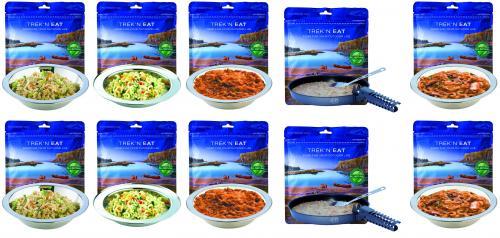 Notnahrung Paket: TREK'N EAT Best of Vegi