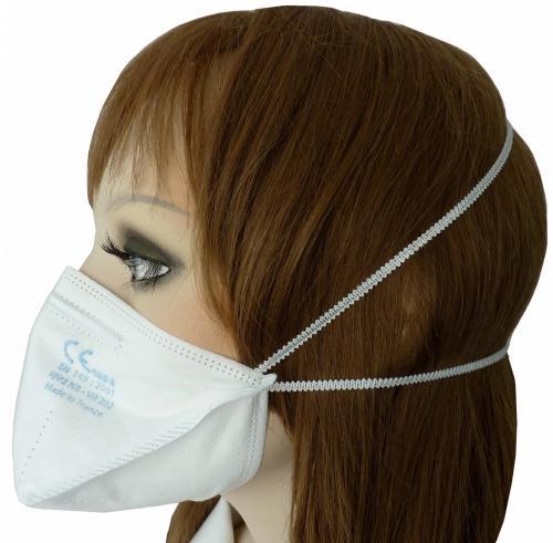 FFP2 Atemschutzmaske/ Halbmaske mit Gummizug