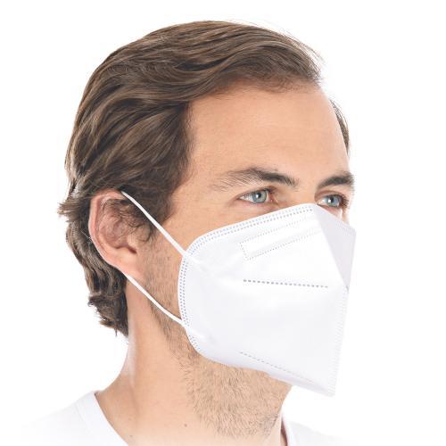 FFP2 Atemschutzmaske/ Halbmaske mit Ohrschlaufen (Medizinprodukt)