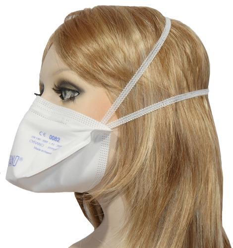 25 x FFP3 Atemschutzmaske/ Halbmaske mit bestem Atemkomfort