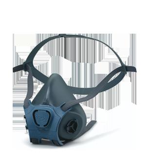 Moldex Halbmaske der Serie 7000 - Mehrweg Maskenkörper mit EasyLock®-Anschluss