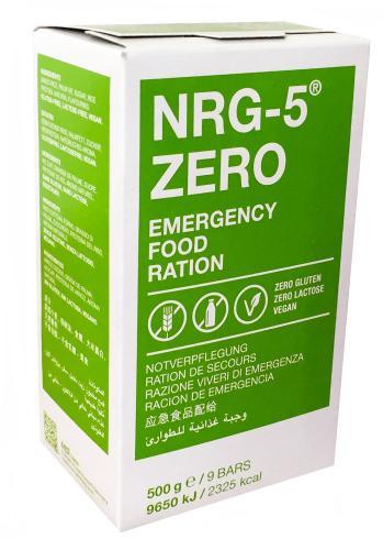 NRG-5 ZERO Notverpflegung auf Reisbasis 500 g - glutenfrei