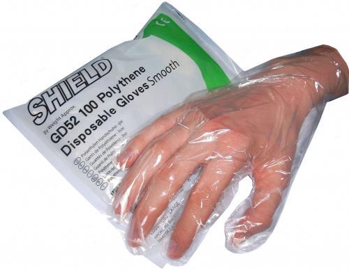 100 PE-Einmalhandschuhe im Beutel
