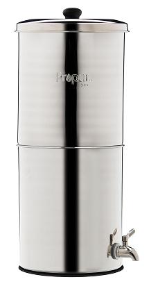 Propur™ Wasserfilter-Behälter aus rostfreiem 304er Edelstahl