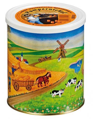 Notnahrung: Roggen Vollkornbrot - Dosenbrot 500 g