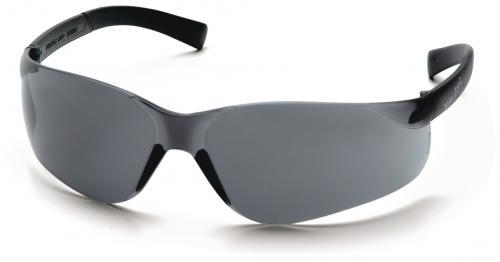 Schutzbrille für kleinere Gesichtsformen grau