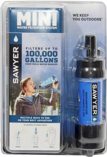 Sawyer® MINI Wasserfilter Set SP128 (0,1 Mikron Porengröße)