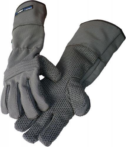 Profi Stich- und Schnittschutzhandschuhe (45 cm Länge)