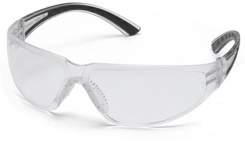 Schutzbrille (Scheiben- und Bügelfarbe wählbar)