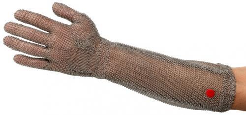 WILCOFLEX Kettenhandschuh mit langer Stulpe (linke Hand)
